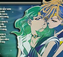 Sailor Uranus & Sailor Neptune Poem by m0nkeysp7ce