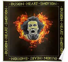 David Luiz - Passion ~ Heart ~ Emotion Poster