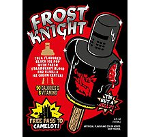 Frost Knight Ice Pop Photographic Print