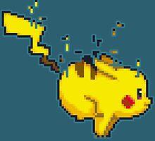 Pixel Pikachu by Arry