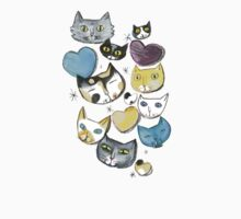 A Bunch of Cats by Lisa Coutts