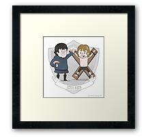 Team Reek Framed Print