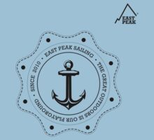 Boating t-shirt Anchor 2 - East Peak Apparel by springwoodbooks