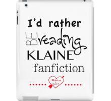 Klaine Fanfiction iPad Case/Skin