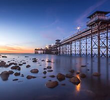 Llanduno Pier Sunset by RossDavidson
