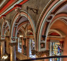 Arches, St. Rita of Cascia Shrine by PhillyChurches