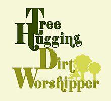 Tree hugger humor by Boogiemonst