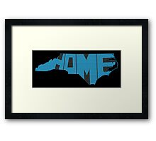 North Carolina Home State Framed Print