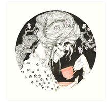Tea time for the Dead Art Print