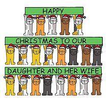 Happy Christmas to our daughter and her wife. by KateTaylor