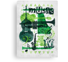 Music Jam Canvas Print