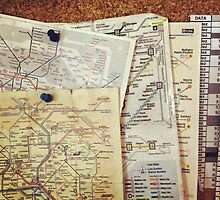 Metro Maps by virginphoto