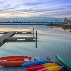 New Brighton Boating Lake by Paul Madden