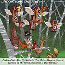 Cuckoo Clocks Flying South 4 The Winter by Rick  London