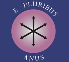 Greendale Community Flag - E Pluribus Anus by Ian Farewell
