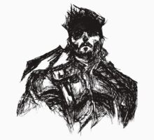 Legendary Soldier, Solid Snake by youddit
