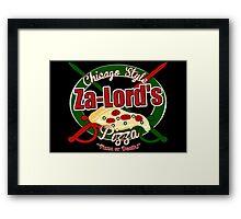 Pizza or Death! Framed Print