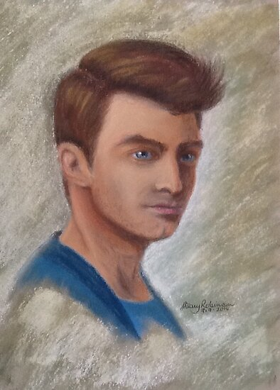 Daniel Radcliffe by Hilary Robinson