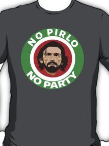 No Pirlo, No Party (Italy) T-Shirt