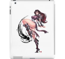 Manga Girl Concept Art iPad Case/Skin