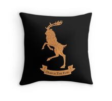 House of Baratheon Throw Pillow