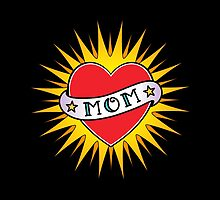 Classic Mom tattoo design by lvida