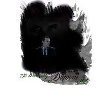 It's Where My Demons Hide (MKII) Photographic Print