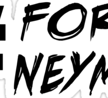 Forca Neymar Sticker