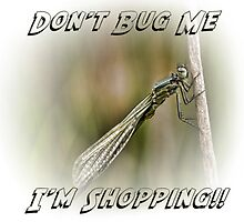 Bug Shopping Bag by shardphotos