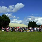 Dog Show At Axminster Fair Devon. UK by lynn carter