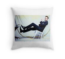 Tipped  Throw Pillow