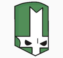 Castle Crashers Green Knight Head by BigMommaT