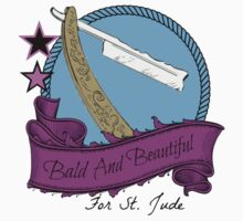 Bald and Beautiful For St. Jude! Kids Clothes