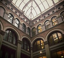 Architecture of Milwaukee Hilton City Center by katherinepaulin