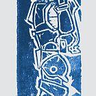 Robotech Mech circa 1985 by Brendan Coyle