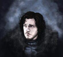 Jon Snow by ChristineLuiten