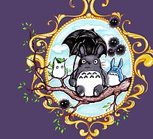 Totoro and Friends by DeerBeth