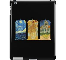 Vincent and The Doctor (Black) iPad Case/Skin