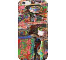 Colourful Cadillacs  iPhone Case/Skin