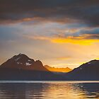 Sunset in northern Norway by Andrey Serdyuk
