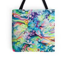 Parts of Reality Were Missing, But Which Parts? - Watercolor Painting Tote Bag