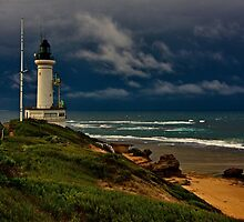 """Stormy Sunday At The Rip"". by Phil Thomson IPA"