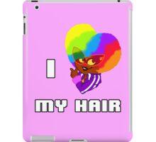 I Love My Hair iPad Case/Skin