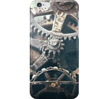 Time Flies in The City iPhone Case/Skin