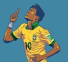 Neymar Jr by Gluttony
