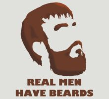Real Men Have Beards by TheKidoshi