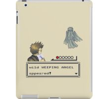 Weeping Angel Appeared! iPad Case/Skin