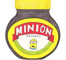 Minion Marmite by thegiftshed
