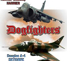 Dogfighters: A-4 vs Harrier by Mil Merchant