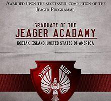 Jeager Acadamy Graduate Certificate  by Rizwanb